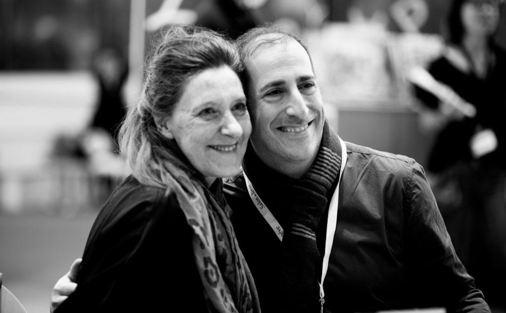 Anne Wilsdorf et Benjamin Knobil, coauteurs des aventures de Petchi.