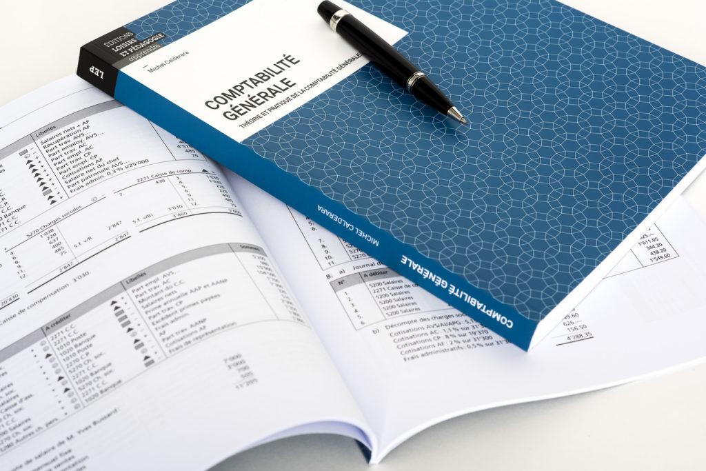 «Comptabilité générale» de Michel Calderara, Erika Mattmann, Caroline Vannod et Yvan Moor.