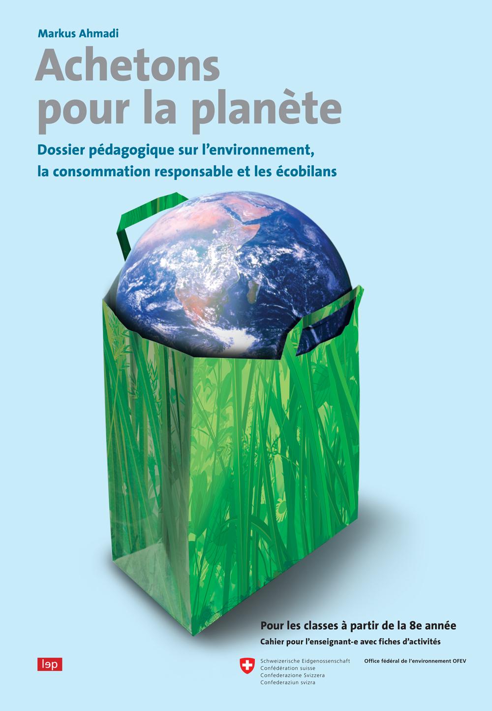 Couverture du livre «Achetons pour la planète»