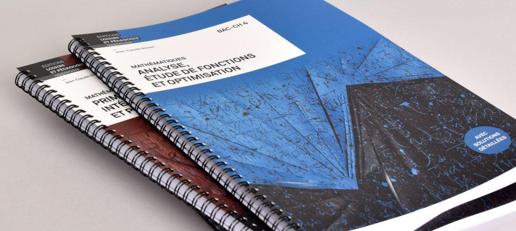 La collection «Mathématiques BAC-CH», un outil de révision et d'enseignement pour le secondaire II