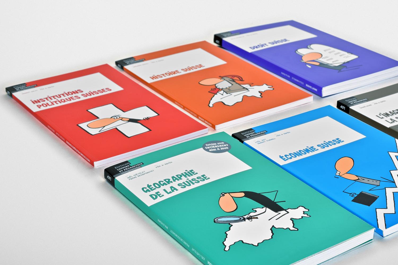Présentation des différents ouvrages composant la collection Comprendre.