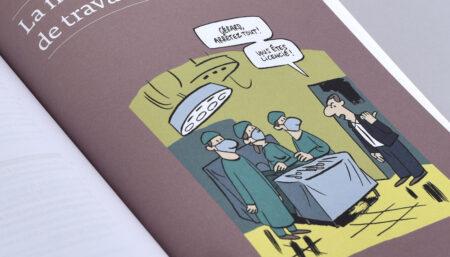 Illustration tirée de l'ouvrage «Le droit du travail en Suisse. 90 questions-réponses issues de la pratique»