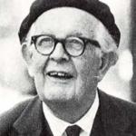 Phot de Jean Piaget à la fin des années 1960