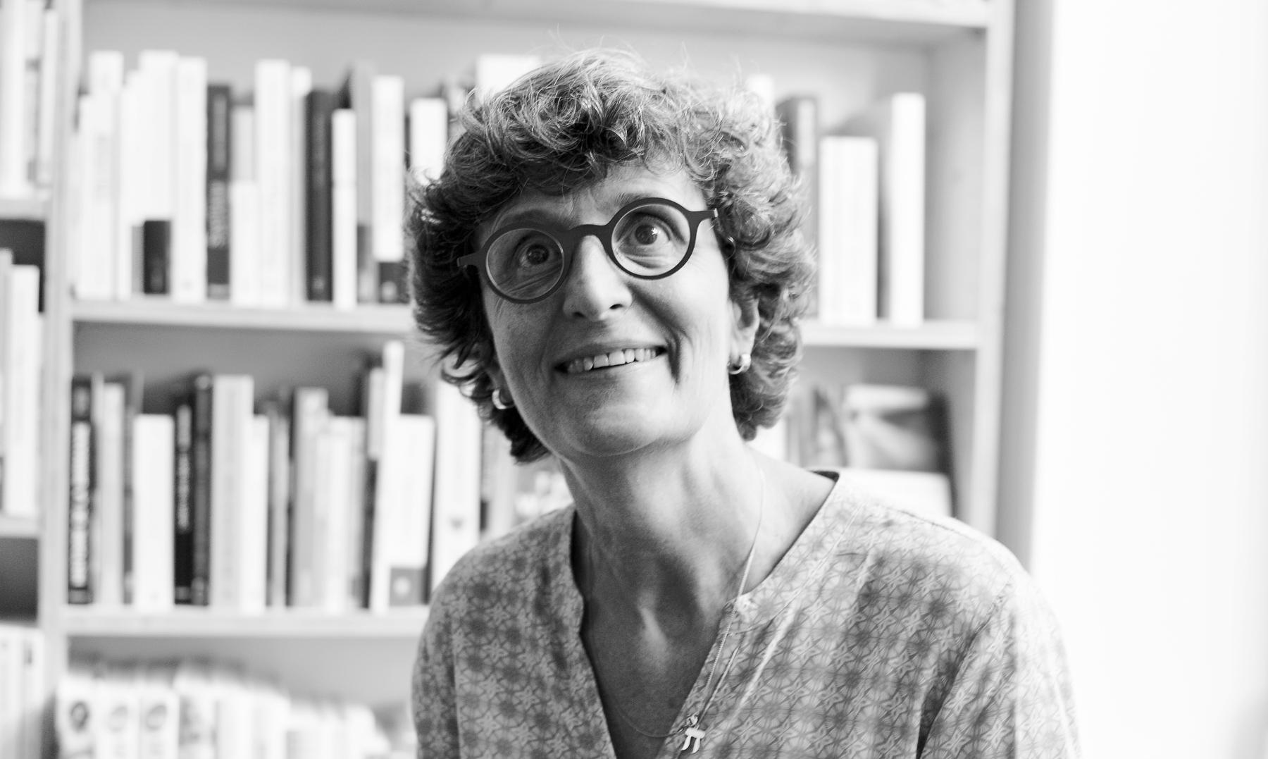 Portrait d'Anne Françoise Koch, libraire indépendante