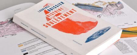 Superpositon des livres «Histoire d'un soulèvement», de Laurence Boissier et de «Le Cervin est-il Africain?» de Michel Marthaler