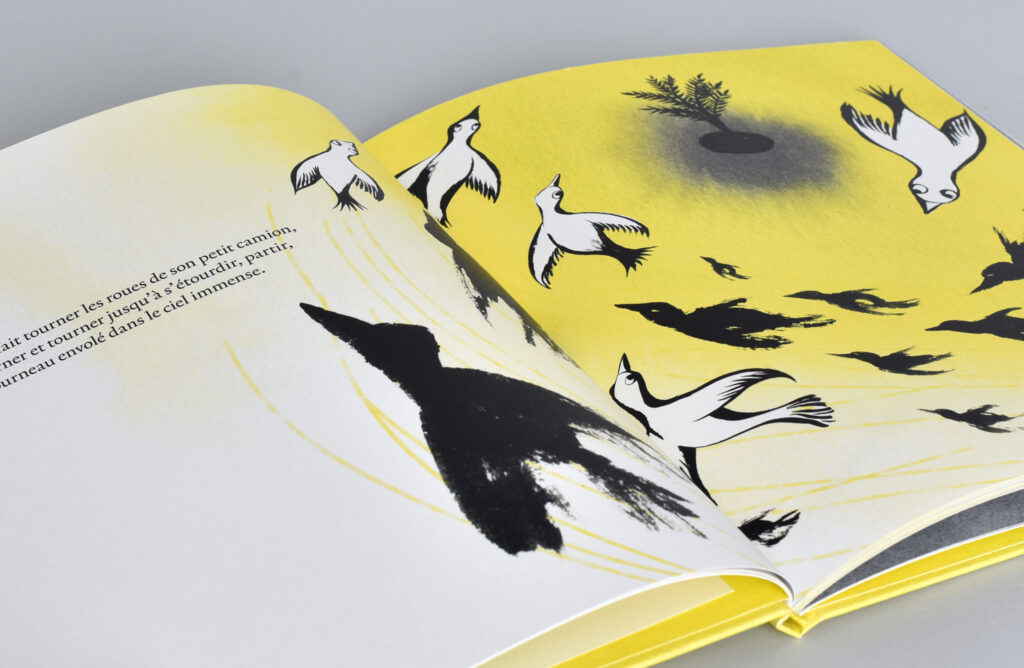 Pages de «L'île de Victor» de Marie Sellier et Catherine