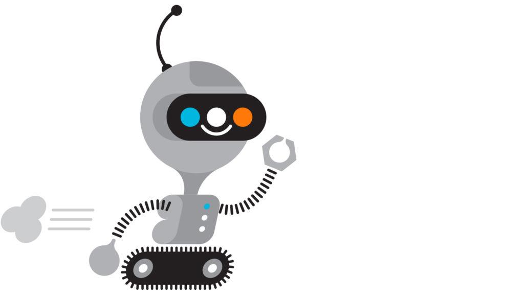 La mascotte-robot de la collection «Connected»