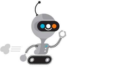 La mascotte-robot de la collection «Connected»