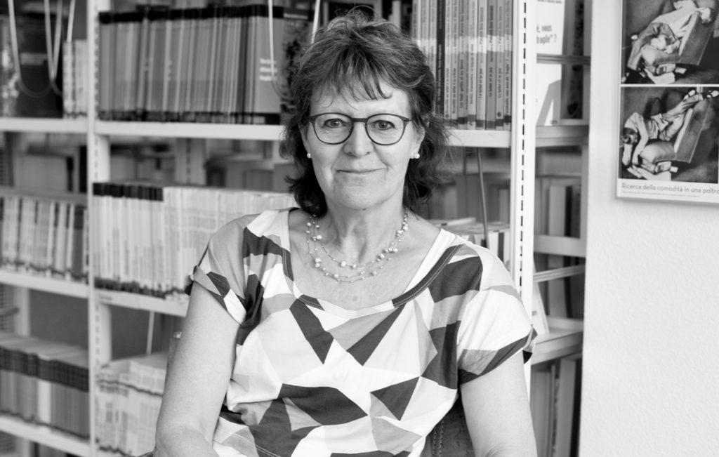 Portrait de Corinne Rochat, directrice du Centre de ressources en éducation de l'enfance (CREDE).