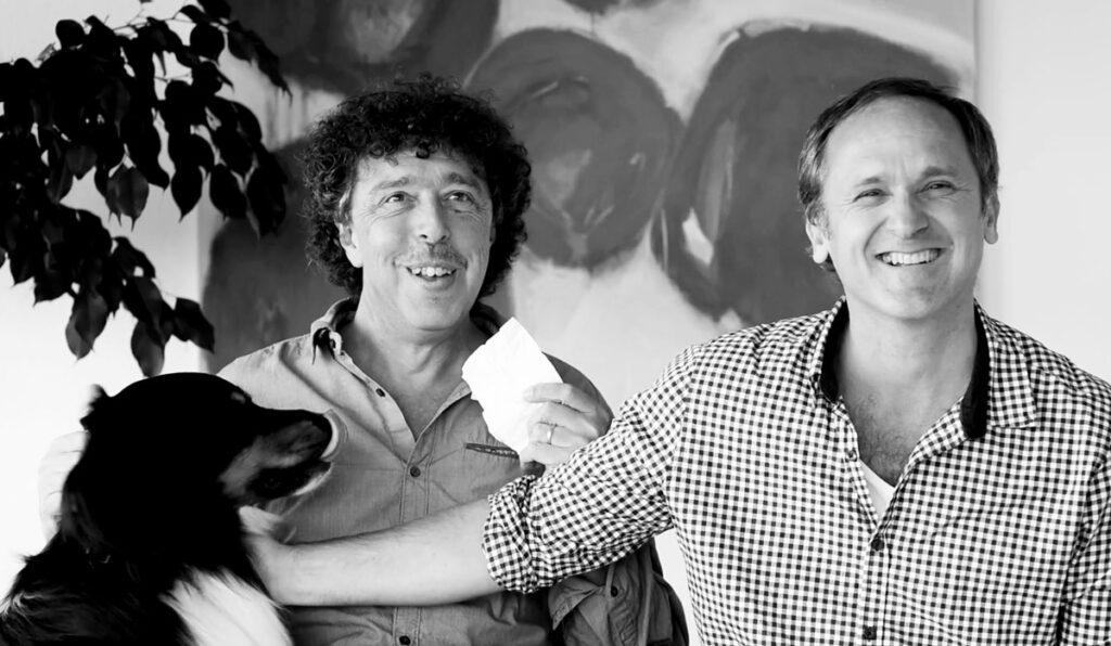 Alain Tissot et Yves Juillerat avec Heliott