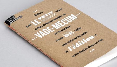 Première de couverture du Petit vade-mecum de l'édition