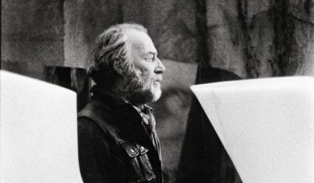 Portrait d'André Raboud, de profil
