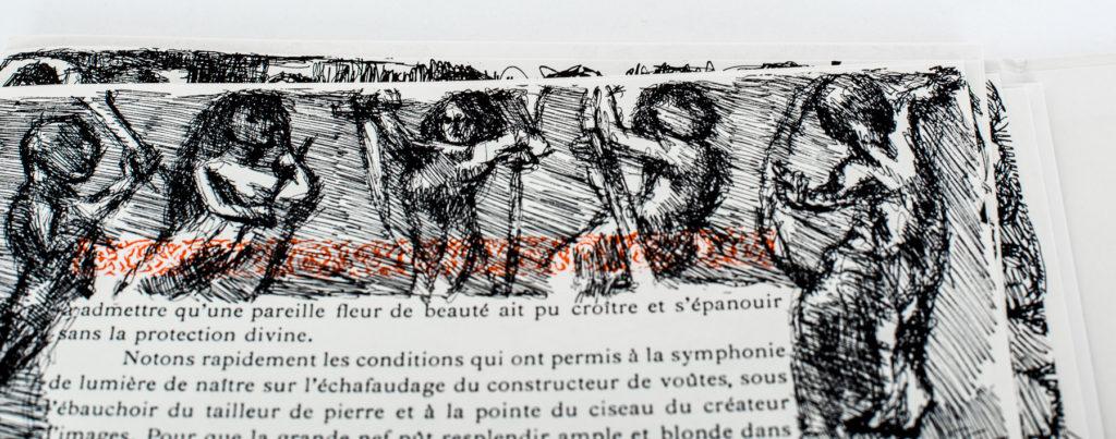 Détail du livre «Voyage au pays des sculpteurs romans» d'Alexis Forel et illustré par Louis Soutter