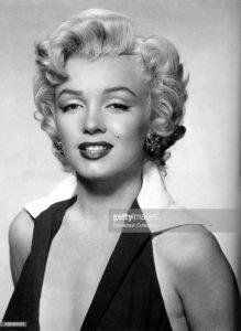 Photo originale de Marilyn Monroe prise par Gene Kornman