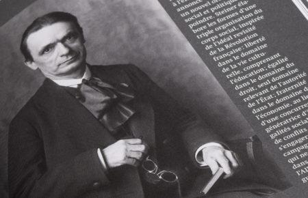 Portrait de Rudolf Steiner tiré du livre «Les grands pédagogues: Steiner»
